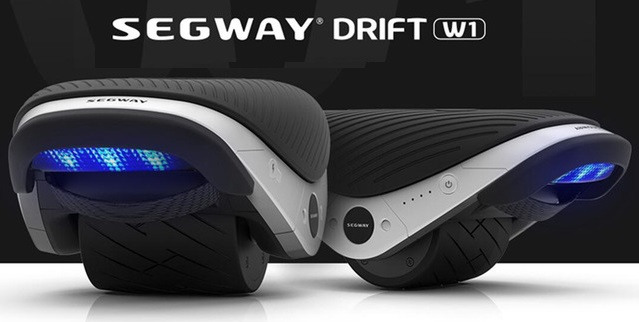 Electric Roller Skates Hovershoes Segway Ninebot Drift W1 Two Wheels self...